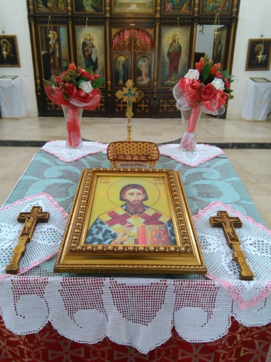 Свечано прослављен Свети Сава, први Архиепископ и просветитељ српски