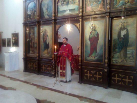 Пређеосвећена Литургија у Милошевцу 05. априла 2017. године