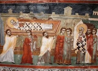 Пренос моштију Светог Николаја Чудотворца